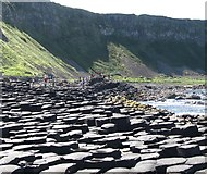 C9444 : The western end of the Giant's Causeway by Eric Jones