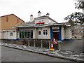 SJ3350 : Arnold's Bar & Grill, Trinity Street, Wrexham by John S Turner