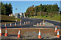J3683 : Road construction, Jordanstown (2) by Albert Bridge
