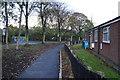 TA1032 : Tenterden Close at Dorchester Road by Ian S