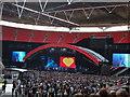 TQ1985 : Girls Aloud - Wembley, London - September 2009 by Richard Humphrey