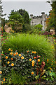 SH5269 : Terrace Garden, Plas Newydd by Ian Capper
