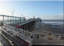 SD3036 : North Pier, Blackpool by Barbara Carr