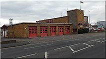 SU1584 : 5-door Fire Station, Swindon by Jaggery