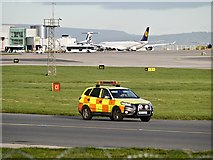 SJ8184 : Airport Security at Manchester by David Dixon