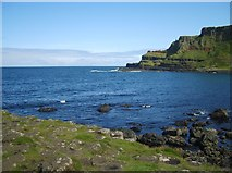 C9444 : The waters of Port Noffer from the Giant's Causeway by Eric Jones