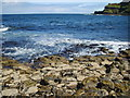 C9444 : Atlantic waves breaking on the Giant's Causeway by Eric Jones