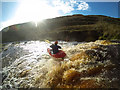 NY8804 : Autoboof on Stonesdale Beck by Andy Waddington