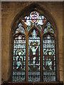 NZ2464 : St. Andrew's Church, Newgate Street, NE1 - stained glass window, Trinity Chapel by Mike Quinn