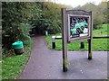 SJ4264 : Entrance to Caldy Nature Park by Jeff Buck