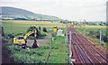 NS9730 : Site of former Lamington station, WCML by Ben Brooksbank