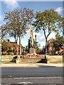 SD7807 : Radcliffe War Memorial and Memorial Garden by David Dixon