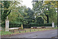 TL1653 : Entrance to Tempsford Millennium Garden Sanctuary by Richard Dorrell