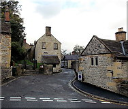 SK2168 : Southern end of Church Alley, Bakewell by Jaggery