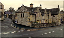 SK2168 : Former Bakewell Almshouses by Jaggery