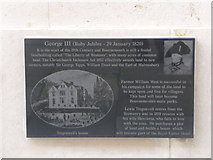 SZ0890 : Bournemouth: Diamond Jubilee Plaque (3) by Chris Downer