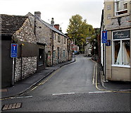SK2168 : Butts Road, Bakewell by Jaggery
