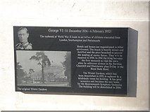 SZ0890 : Bournemouth: Diamond Jubilee Plaque (12) by Chris Downer