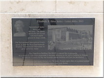 SZ0890 : Bournemouth: Diamond Jubilee Plaque (14) by Chris Downer