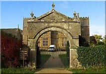 SP2429 : The gateway to Chastleton House by Steve Daniels
