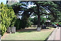 TQ4973 : Graveyard, Church of St Mary by N Chadwick