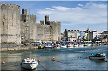 SH4762 : Caernarfon Castle by Ian Capper