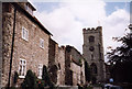 TQ9549 : Archbishops Palace, Charing: gatehouse by Stephen Craven