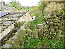 SE0023 : Stile on the northern branch of Hebden Royd FP91 by Humphrey Bolton