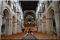 TQ7468 : Nave, Rochester Cathedral by Julian P Guffogg