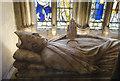 TQ7468 : Effigy of Walter de Merton, Rochester cathedral by Julian P Guffogg