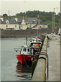 NX3343 : Port William harbour by Jonathan Billinger