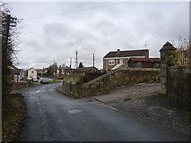 SJ3053 : Street scene in Moss by Peter Aikman