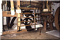 SZ4186 : Calbourne Water Mill - gearing by Chris Allen