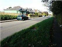 TR3256 : Houses along Dover Road by John Baker