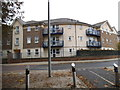 TQ1869 : Flats on Skerne Road, Kingston by David Howard