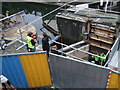 TQ2884 : Camden Lock drained and open to the public by Vieve Forward