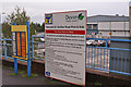 SX9692 : Honiton Road Park and Ride sign by Richard Dorrell