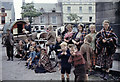 G9278 : Gypsies near the Four Masters Monument, Donegal Town by Tony Whelan (Deceased)