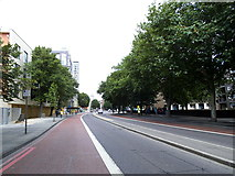 TQ3479 : Jamaica Road, looking west by Stephen Craven