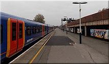 SU6400 : Split-level railway station, Portsmouth & Southsea by Jaggery