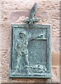 NT4899 : Polish Paratroops plaque, Earlsferry Town Hall by kim traynor