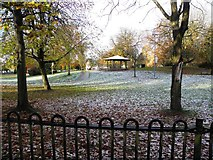 H4573 : Frosty at Grange Park, Omagh by Kenneth  Allen