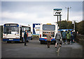J3979 : Bus substitution - Holywood station - 2001 by The Carlisle Kid