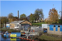NS5964 : Jetty of Glasgow Humane Society, Glasgow Green by Leslie Barrie