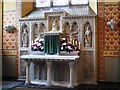NZ2463 : St. Mary's Cathedral, Clayton Street West, NE1 - altar in the Blessed Sacrement Chapel by Mike Quinn