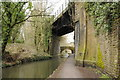 ST2999 : Disused railway bridge by Philip Halling