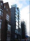 NT2572 : Tower blocks on Simpson Loan by M J Richardson