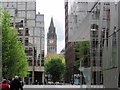 SJ8398 : Towards the Town Hall, Manchester by Tricia Neal