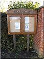 TM2460 : Brandeston Village Notice Board by Adrian Cable