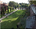 SJ4066 : Roman Gardens and City Wall, Chester by Jaggery